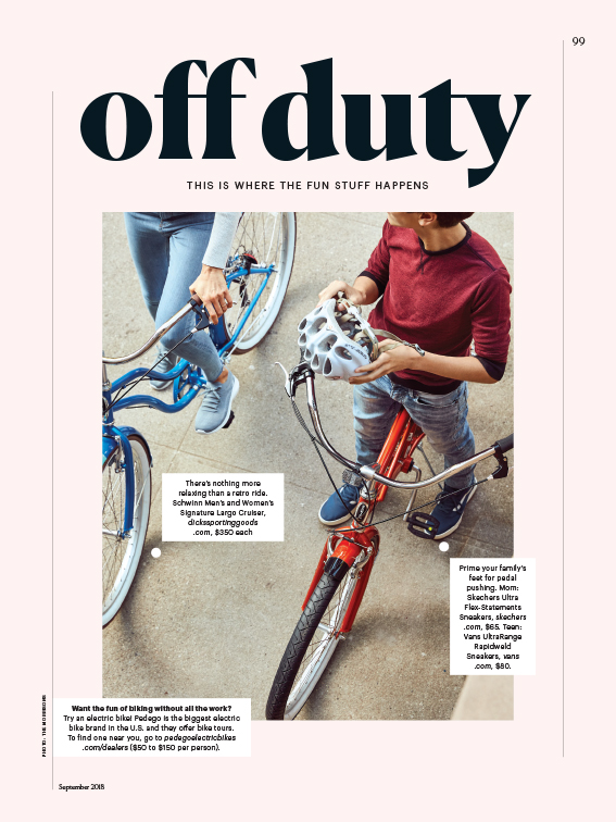 family circle off duty editorial page